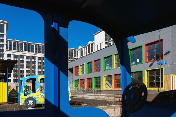 «Галс-Девелопмент» ввел в эксплуатацию детское дошкольное учреждение в квартале бизнес-класса «Наследие»