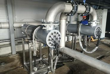Первая в Ульяновской области установка ультрафиолетового обеззараживания сточных вод появилась на новых очистных сооружениях Новоульяновска