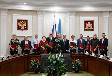 Фоторепортаж: рабочий визит Министра в Архангельскую область