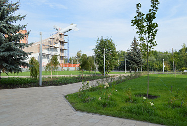 В Нижнем Новгороде на 95% готово благоустройство бульвара Авиастроителей