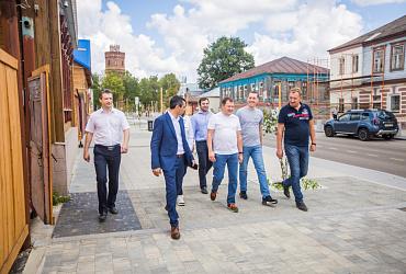 Минстрой России проверил качество благоустройства Подмосковных городов