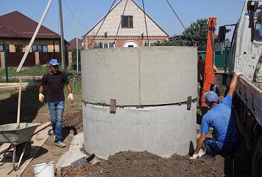 В городе Тимашевске Краснодарского края строят новый водозабор