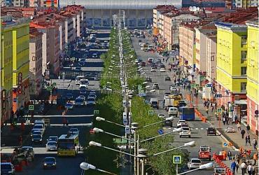 В Норильске Красноярского края благоустроят три площадки для отдыха