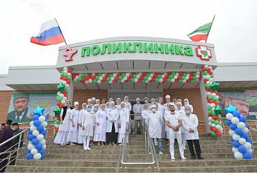 Жители Чеченской Республике благодаря нацпроекту получили объекты социального значения и дом для переселенцев из аварийного жилья