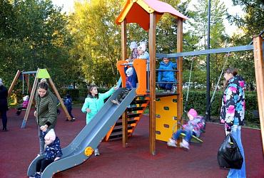 В городе Шарыпово Красноярского края открыли обновленный благодаря нацпроекту парк Энергетиков