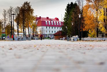 До конца сентября в поселке Медведево Республики Марий Эл благоустроят парк