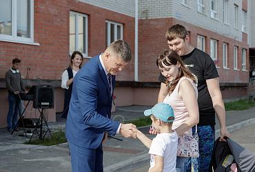 Благодаря нацпроекту 14 семей из Тульской области стали новоселами в региональном центре