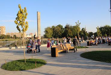 Юные жители Орла благодаря нацпроекту получили обновленный Детский парк – ВИДЕО