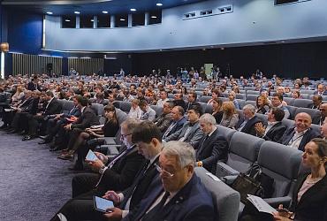 Трансляция пленарного заседания XI Всероссийской конференции «Российский строительный комплекс»