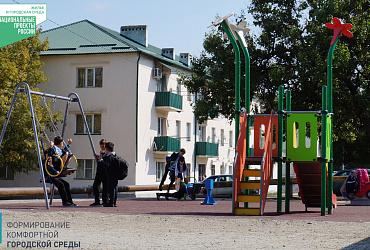 Более 6 000 жителей Грозного получили благоустроенные дворовые территории благодаря нацпроекту