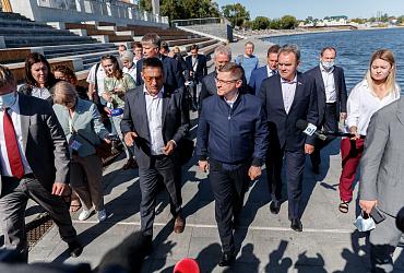 Рабочая поездка главы Минстроя России Владимира Якушева в Пензенскую область