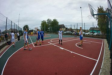 В Нижнем Тагиле Свердловской области появилась вторая многофункциональная спортплощадка
