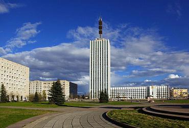 Регион на карте. Архангельская область