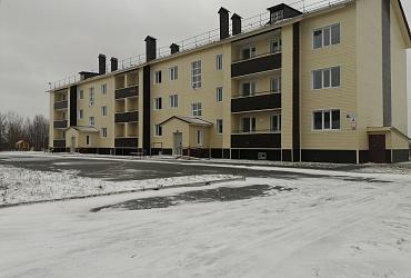 Тридцать семей из поселка Юганская Обь в ХМАО – Югре получат ключи от своих новых квартир
