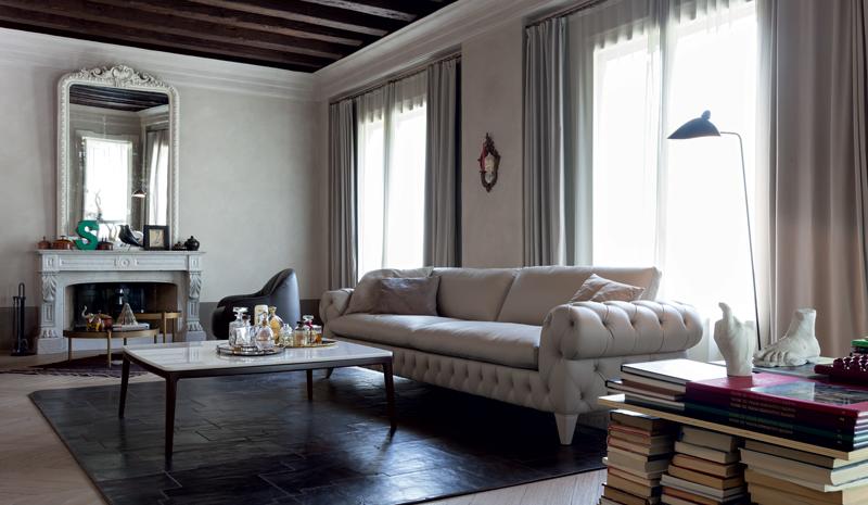Мягкая мебель в стиле барокко в современном дизайне
