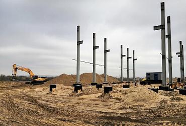 В Волгограде приступили к очередному этапу строительства нового комплекса биологической очистки воды