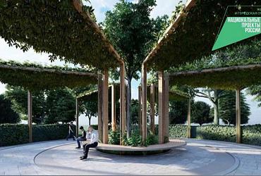 В Новороссийске реконструируют парк имени Фрунзе