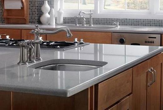 Красивые столешницы из искусственного камня для вашей кухни