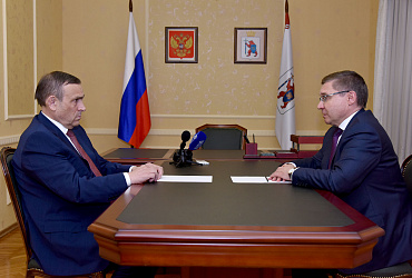 Владимир Якушев провел рабочую встречу с главой Республики Марий Эл