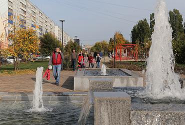 Завершилась вторая очередь благоустройства в нижегородском сквере Канавинский по нацпроекту