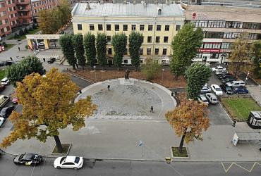 В Санкт-Петербурге завершилось благоустройство Путиловского сквера
