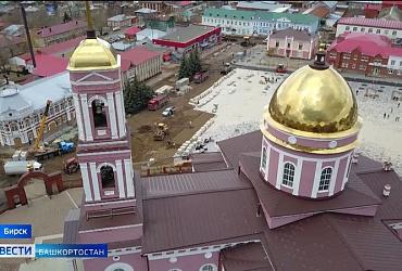 Сохранили самобытность и добавили комфорт: в башкирском Бирске благоустраивают центральную площадь - ВИДЕО