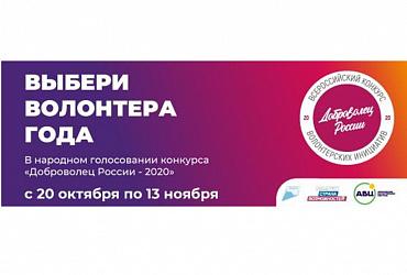Голосование за лучшие волонтерские проекты в сфере благоустройства конкурса «Доброволец России» продлится до 13 ноября