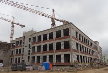 В Санкт-Петербурге по программе «Стимул» строят школу на 825 мест