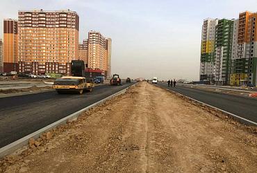 В Ростове-на-Дону продолжается строительство дорог по программе «Стимул»