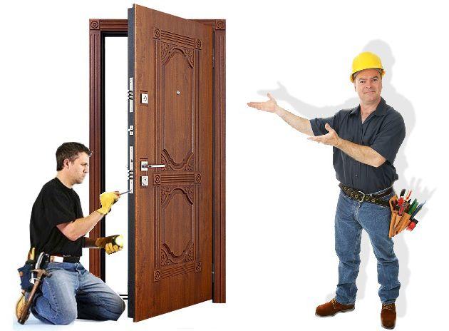 Установка дверей в Минске