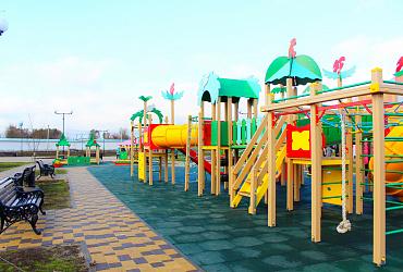 На Кубани к 200-летию села Белая Глина открыли парк, созданный по нацпроекту