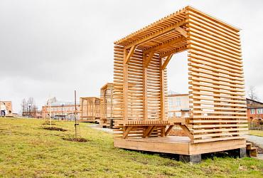 В поселке Удмуртии 13 ноября откроется благоустроенный парк «Юбилейный»