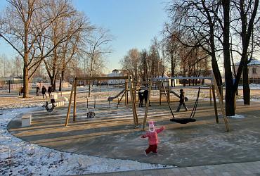 В тульском Веневе завершилось благоустройство Красной площади - ВИДЕО