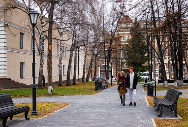 В Томской области по нацпроекту благоустроены все общественные пространства 2020 года