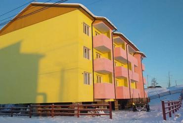 В Республике Саха (Якутия) завершилось строительство многоквартирных домов, в которые из аварийного жилья переедут 193 семьи