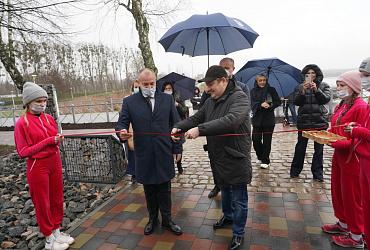 В Калининградской области состоялось открытие двух проектов-победителей Всероссийского конкурса лучших проектов создания ком-фортной городской среды