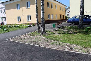 В Тульской области отремонтированы более тысячи дворов -  ВИДЕО