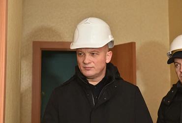Дмитрий Волков проинспектировал ход работ по строительству жилья в Пермском крае