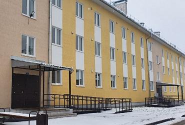 В двух районах Псковской области введены в эксплуатацию дома для переселенцев из аварийного жилья