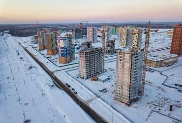 Дмитрий Волков проверил ход строительства ЖК «Любимов» в Березниках Пермского края