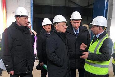 Ирек Файзуллин посетил Республику Тыва в составе правительственной делегации
