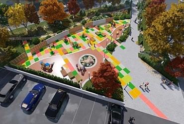 В Перми построят новый сквер по улице Екатерининской