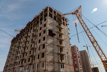 В России по счетам эскроу строится 53 млн кв. м жилья