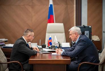 Глава Минстроя России провел рабочую встречу с губернатором Магаданской области