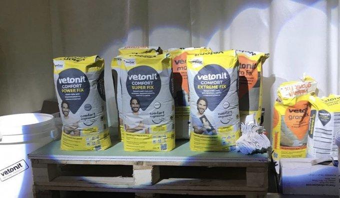 Vetonit Comfort: новый клей с дружелюбным характером