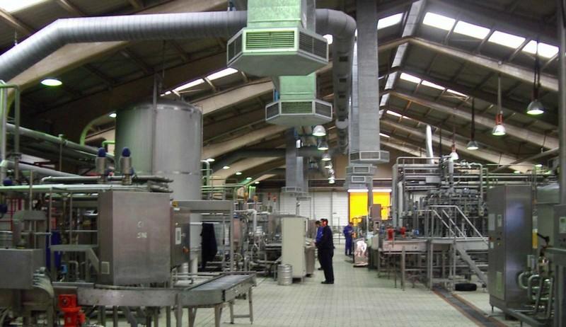 Промышленная вентеляция: функции, назначение и технические требования