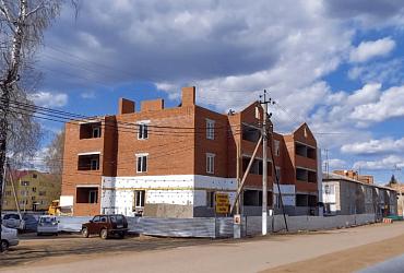 В Илишевском районе Башкортостана ведется строительство двух домов для переселения граждан из аварийного жилья