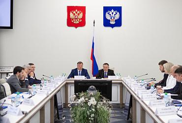 Фоторепортаж: Итоговое заседание Коллегии Минстроя России