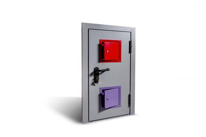 Противопожарные двери Бриарей для казначейства