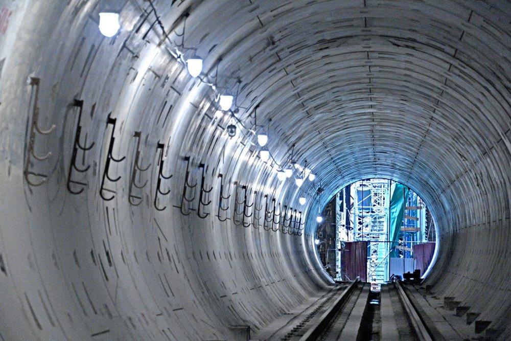 Участок Троицкой линии метро от «Новаторской» до «Мамырей» готов на 42 %